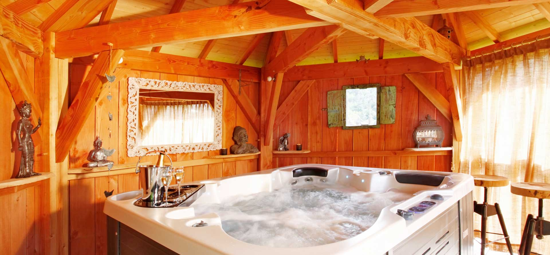 cabane spa privatif